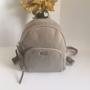 New Kate spade dawn backpack gray medium